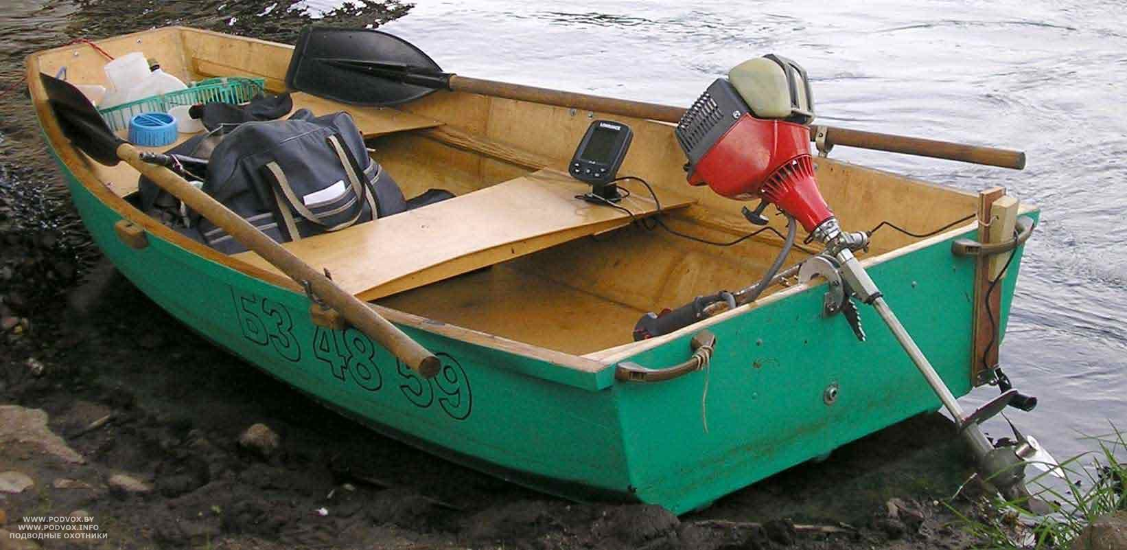 Небольшую лодку под мотор своими руками 5